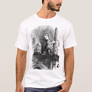 Alice par la chemise de psyché t-shirt