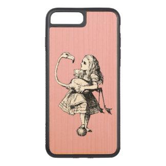 Alice personnalisable au pays des merveilles coque carved pour iPhone 7 plus