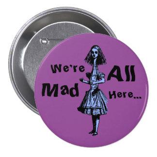 Alice s'est étirée au pays des merveilles badge
