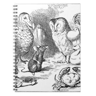 Alice, souris et oiseaux carnet