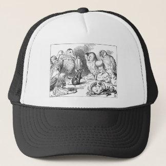 Alice, souris et oiseaux casquette