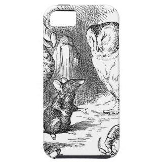 Alice, souris et oiseaux coque Case-Mate iPhone 5