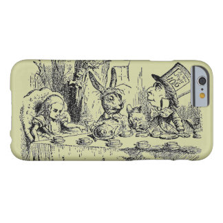 Alice vintage au pays des merveilles coque iPhone 6 barely there