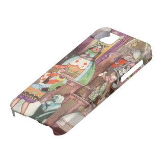 Alice vintage au pays des merveilles, reine des coque iPhone 5 Case-Mate