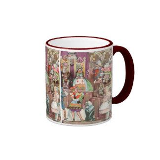 Alice vintage au pays des merveilles, reine des tasse