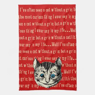 Alice vintage au pays des merveilles serviette éponge