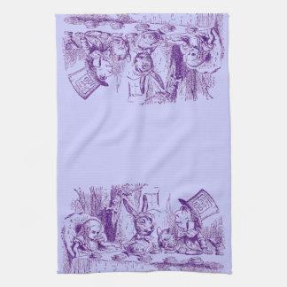 Alice vintage au pays des merveilles serviette pour les mains