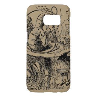 Alice vintage dans le narguilé Caterpillar du pays Coque Samsung Galaxy S7