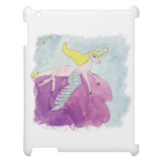 Alicorn s'est envolé le cheval rose de poney coque iPad