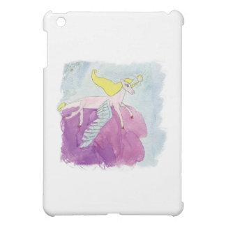 Alicorn s'est envolé le cheval rose de poney étui iPad mini