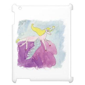 Alicorn s'est envolé le cheval rose de poney étuis iPad