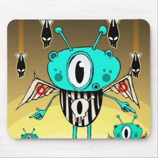 Alien 2012 d'équipe tapis de souris