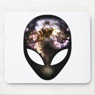 Alien cosmique tapis de souris
