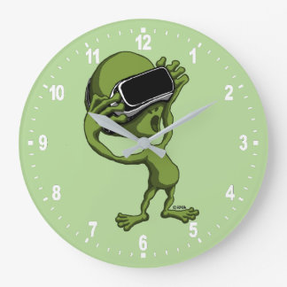 Alien de VR Grande Horloge Ronde