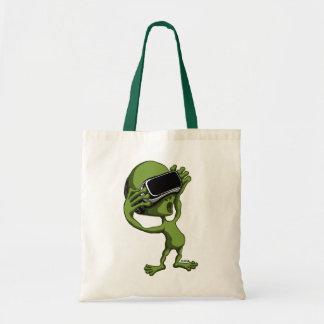 Alien de VR Tote Bag