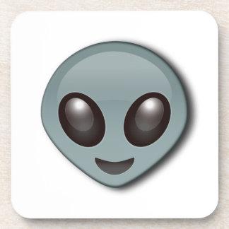 Alien observé par insecte dessous-de-verre