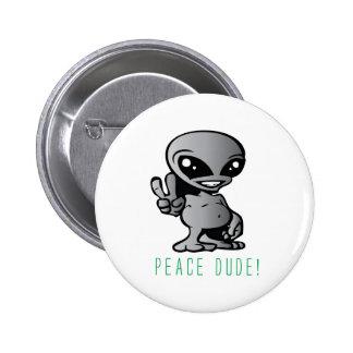 Alien-Paix Badges