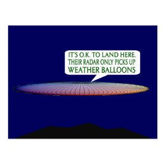 Alien toute l'occasion cartes postales