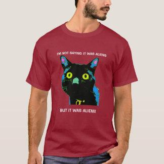 Aliens de chat noir ! T-shirt