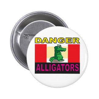 aligators de danger badge
