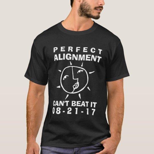 Alignement parfait d'éclipse lunatique t-shirt