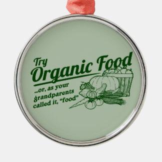 Aliment biologique - vos grands-parents l ont appe décoration de noël