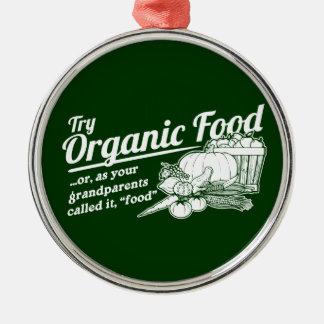 Aliment biologique - vos grands-parents l ont appe décoration pour sapin de noël