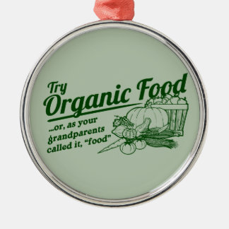 Aliment biologique - vos grands-parents l'ont décoration de noël