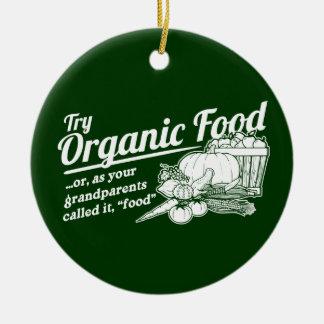 Aliment biologique - vos grands-parents l'ont décoration pour sapin de noël