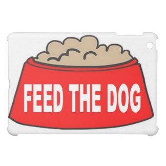 Alimentation rouge de bol d'aliments pour chiens d