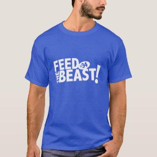 Alimentez le T-shirt de bête