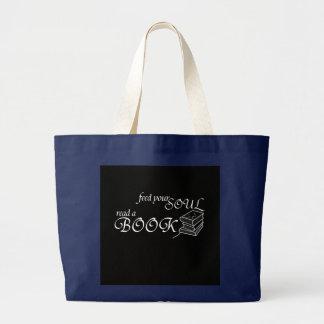 Alimentez votre âme - cartable grand tote bag