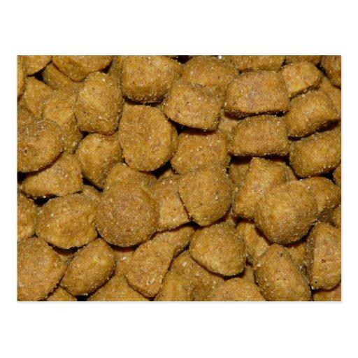 Aliments pour chiens ! Animal familier sec croquan Carte Postale