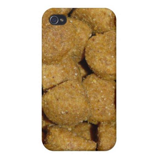 Aliments pour chiens ! Animal familier sec croquan Coque iPhone 4