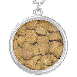 Aliments pour chiens ! Animal familier sec croquan Pendentif Rond