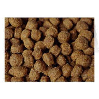 Aliments pour chiens cartes