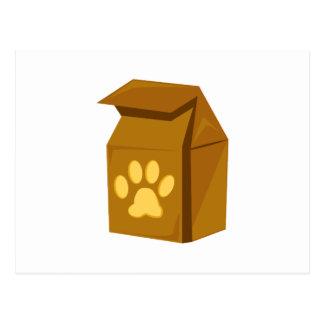 Aliments pour chiens cartes postales