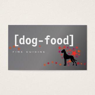 Aliments pour chiens great dane cartes de visite