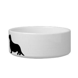 Aliments pour chiens personnalisés de teckel assiette pour chat