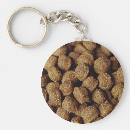 Aliments pour chiens porte-clefs