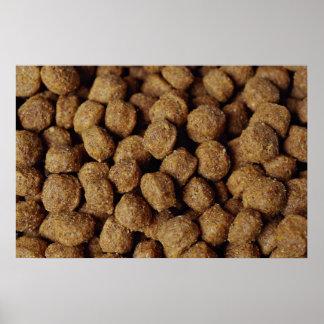 Aliments pour chiens affiche