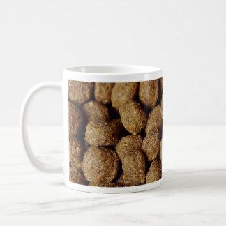 Aliments pour chiens mug à café