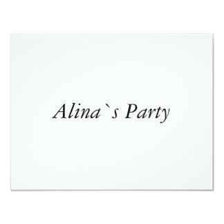 Alina Invites