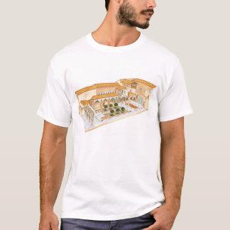 Aljaferia. Saragosse Espagne. Palais islamique T-shirt