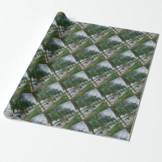 Allée des arbres de châtaigne - Alfred Sisley Papier Cadeau Noël