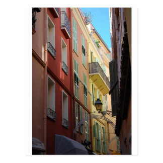Allée à Monte Carlo, Monaco Carte Postale