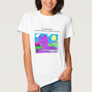 Allée de Hairball - série de MTMC T-shirts