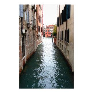 Allée de l'eau de Venise Papier À Lettre Customisable