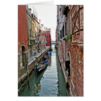 Allée de Venise Carte De Vœux