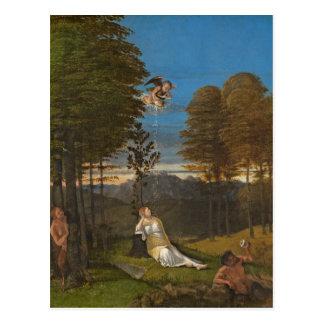 Allégorie de la chasteté, C. 1505 (huile sur le Cartes Postales